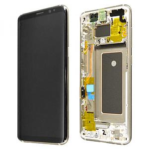 G965 S9 Plus LCD BLACK (GH97-21691A) (sku919)
