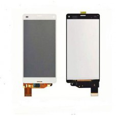 Sony Xperia Z3 LCD with digitizer, with frame - white