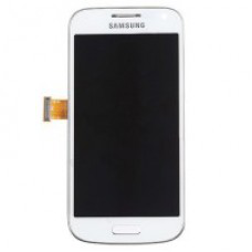 Vitre tactile, LCD et chassis pour Galaxy S3 mini i8195, Blanc