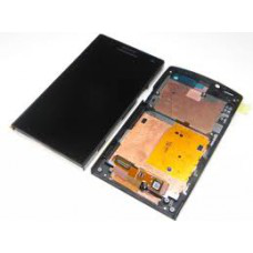 Vitre tactile, LCD et chassis pour Sony Xperia S