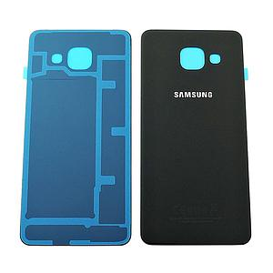 SAMSUNG GALAXY A3 (2017) BATTERY COVER - BLACK